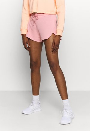 RELAXED FIT HIGH WAIST - Sports shorts - pink