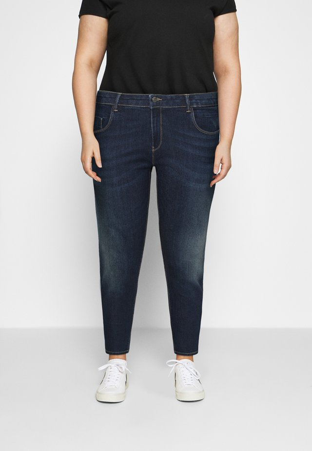 CARANTE LIFE PUSHUP - Skinny džíny - dark blue denim