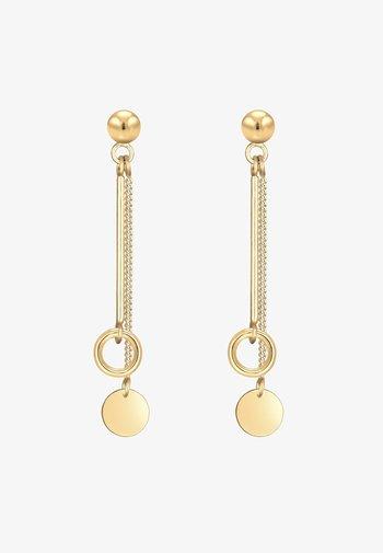 CIRCLE STICK BASIC - Earrings - gold-coloured