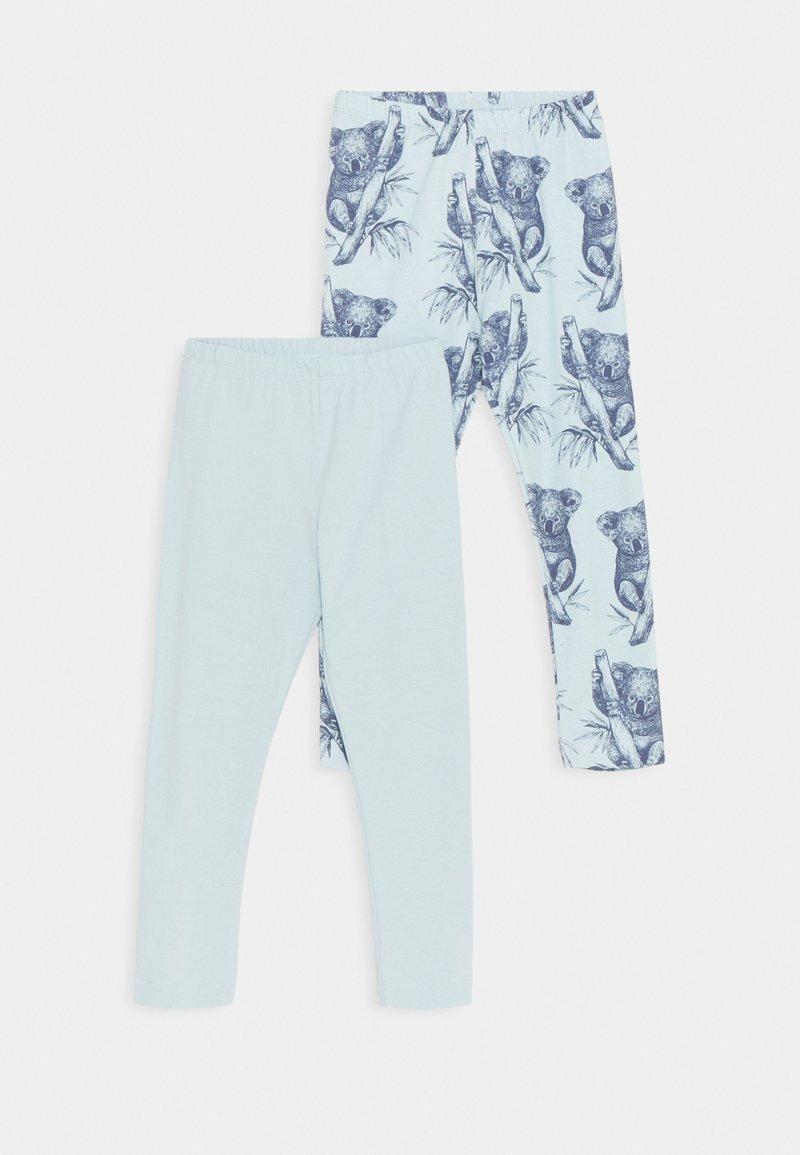 Walkiddy - KOALAS 2 PACK - Leggings - Trousers - light blue