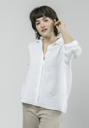JAPANESE SKY ESSENTIAL - Button-down blouse - white