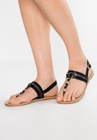Anna Field Wide Fit - tåsandaler - black - 0