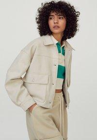 PULL&BEAR - Light jacket - beige - 3