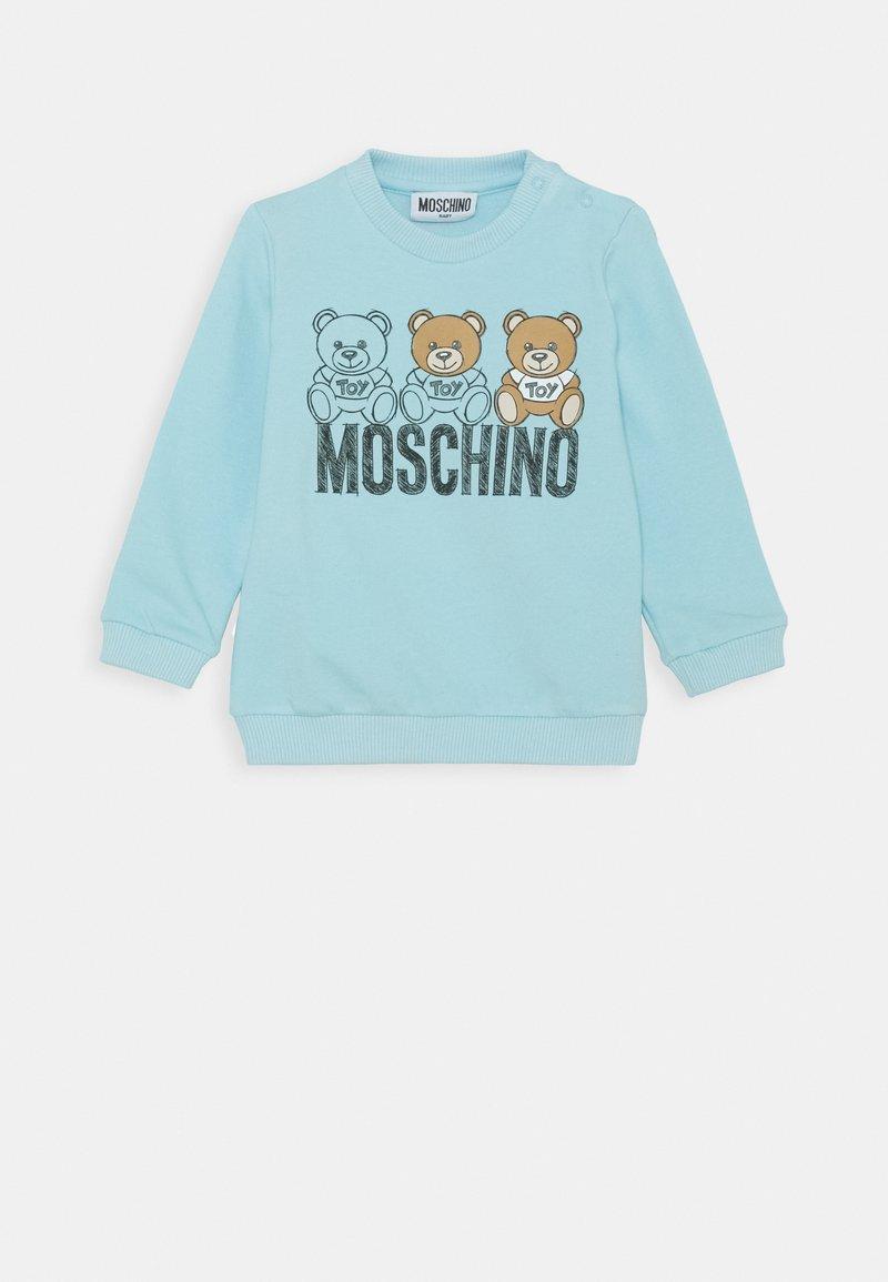 MOSCHINO - Mikina - baby sky blue