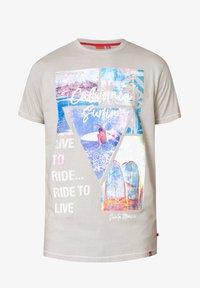 BadRhino - CALIFORNIA - Print T-shirt - grey - 0
