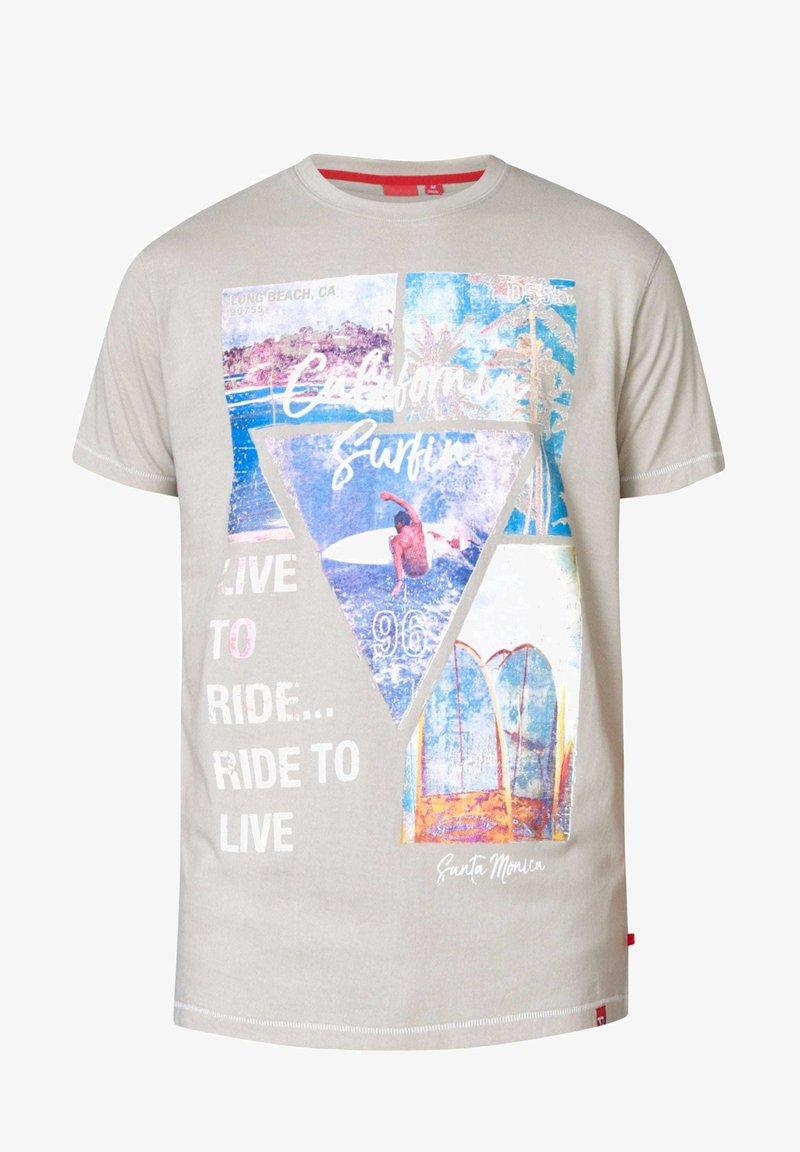 BadRhino - CALIFORNIA - Print T-shirt - grey