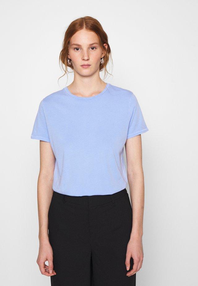 VEGIFLOWER - T-shirt basique - celeste
