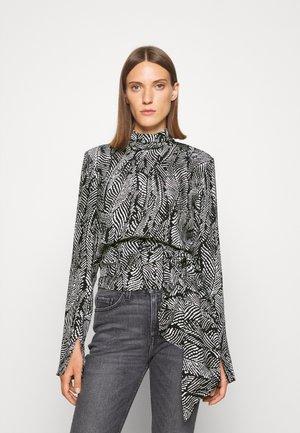 CAMICIA BLOUSE - Blouse - black/white
