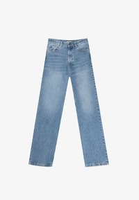 Stradivarius - Jeans straight leg - light blue - 4