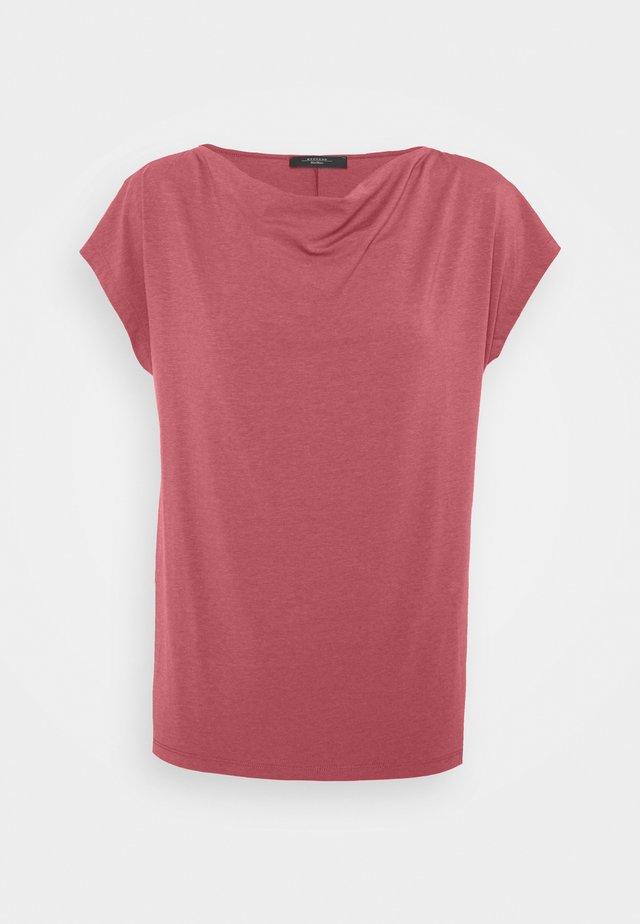 MULTID - T-shirt basic - dunkelmauve