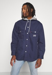 Levi's® - HOODED JACKSON OVERSHIRT - Summer jacket - dress blues - 0