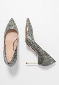 Kurt Geiger London - BRITTON - High heels - grey/light - 3