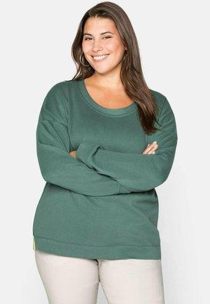 Sweatshirt - opalgrün