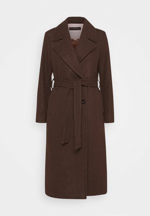 EJA - Classic coat - chocolate glaze