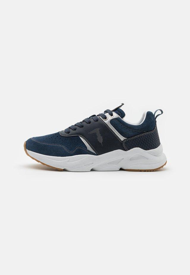 KIELE MIX - Sneakers laag - navy blue