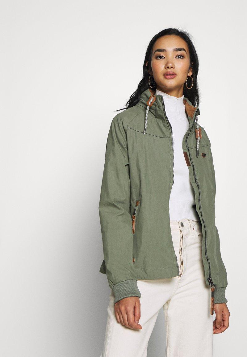 Ragwear - APOLI - Summer jacket - dusty green
