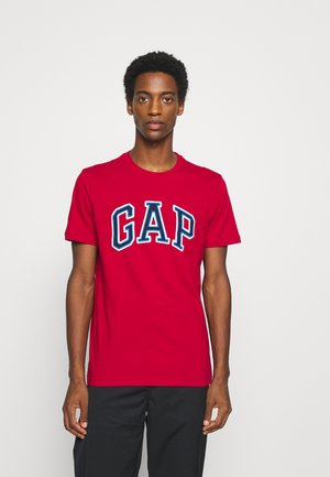 BAS ARCH - Print T-shirt - lasalle red