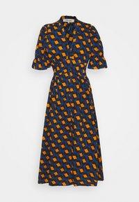 Diane von Furstenberg - ERICA - Robe longue - navy - 0