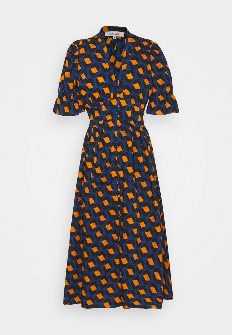 Diane von Furstenberg - ERICA - Robe longue - navy