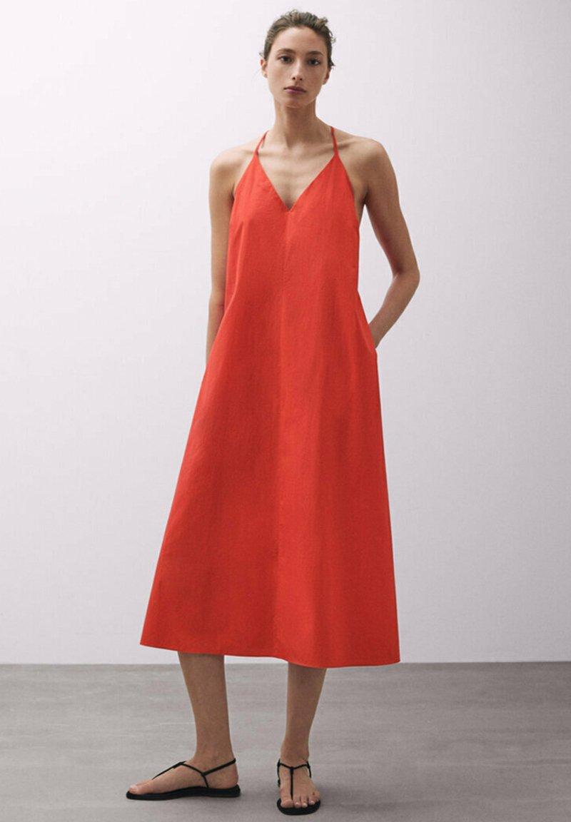 Massimo Dutti - TASCHEN - Day dress - red