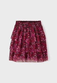 Name it - Pleated skirt - fuchsia purple - 2