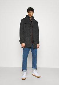 TOM TAILOR - COAT - Classic coat - dark grey - 1