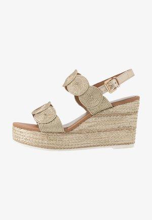 Højhælede sandaletter / Højhælede sandaler - platinum