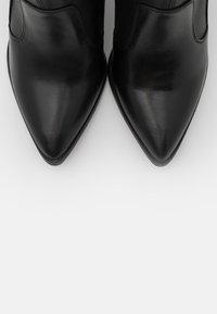 Tamaris Heart & Sole - BOOTS - Kozačky na vysokém podpatku - black - 5
