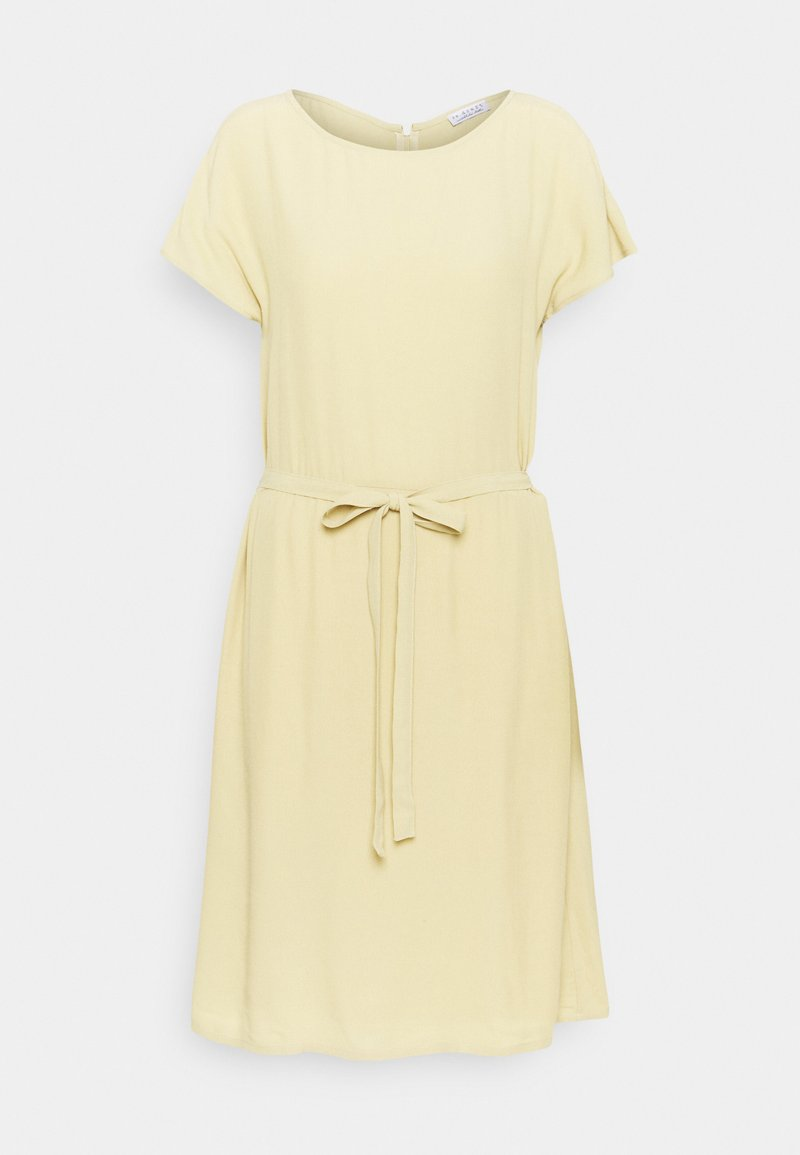 Re.draft - SHORTSLEEVE DRESS - Sukienka letnia - muted lime