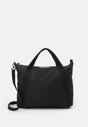 GWENETH CROSS - Shopping bag - black