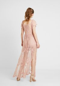 Honey Punch - OFF SHOULDER BARDOT DRESS - Maxi dress - blush - 2