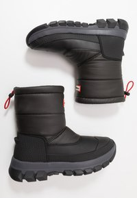 Hunter ORIGINAL - MENS ORIGINAL INSULATED SNOW BOOT SHORT - Winter boots - black - 1