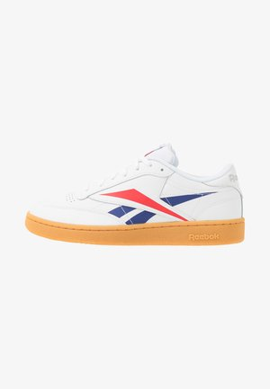 CLUB VECTOR - Sneakers laag - white/scarlet/true grey