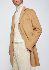 BOSS - H-HYDE - Classic coat - beige - 3