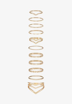 VIODIA 11 PACK - Ring - gold-coloured