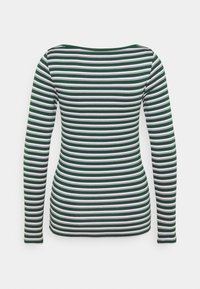 GAP - BATEAU - Long sleeved top - green stripe - 6
