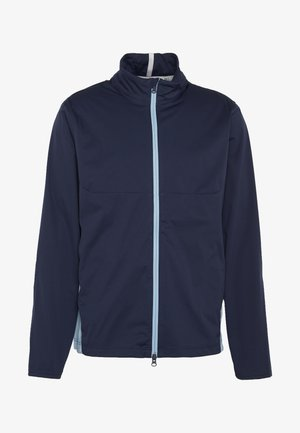 STRATUS UNLINED JACKET - Waterproof jacket - french navy/powder blue