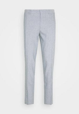 SUTTON WIDE STRIPE - Pantaloni - blue/white
