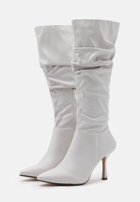 4th & Reckless - LIVVI - High heeled boots - white - 2