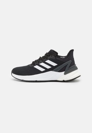 RESPONSE SUPER 2.0 RUNNING BOOST PRIMEGREEN SHOES UNISEX - Neutral running shoes - core black/footwear white/grey six