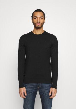 CLASSIC CREWNECK  - Stickad tröja - black