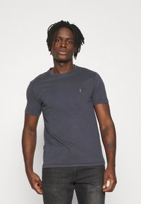AllSaints - BRACE TONIC CREW - Basic T-shirt - aster blue - 0
