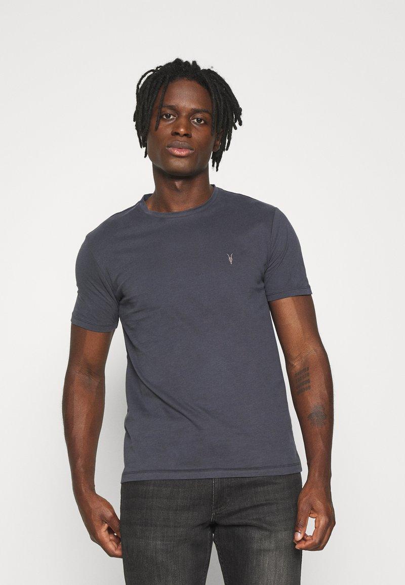 AllSaints - BRACE TONIC CREW - Basic T-shirt - aster blue