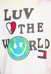 Tommy Jeans - US LUV THE WORLD TEE - T-shirt imprimé - multi-coloured - 2