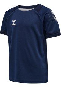 Hummel - Print T-shirt - marine - 1
