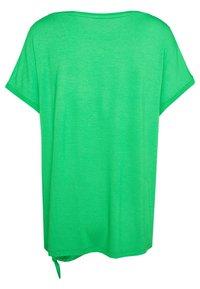 s.Oliver - KURZARM - Basic T-shirt - neon green - 1