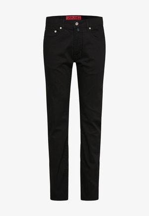 PIERRE CARDIN MODERN FIT JEANS VOYAGE LYON - Straight leg jeans - black