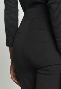 J.CREW - GEORGIE PANT - Spodnie materiałowe - black - 4