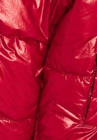 Tommy Hilfiger - METALLIC PUFFER JACKET - Winter jacket - red - 2
