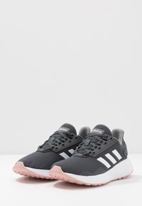 adidas Performance - DURAMO 9 - Neutral running shoes - grey six/footwear white/pink spice - 2